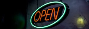 Showing business is open with video marketing