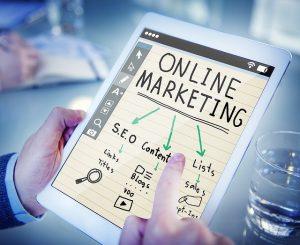 Online video marketing using video