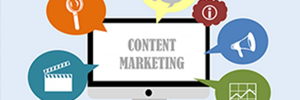 Video Blogging Content Marketing Video Production Banner